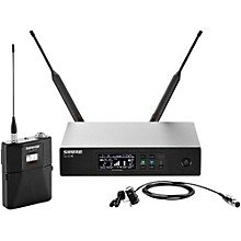 Shure QLX-D Digital Wireless System with WL184 Supercardioid Lavalier Band J50