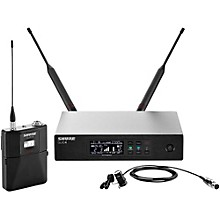 Shure QLX-D Digital Wireless System with WL184 Supercardioid Lavalier Band L50