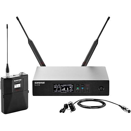 Shure QLX-D Digital Wireless System with WL185 Cardioid Lavalier-thumbnail