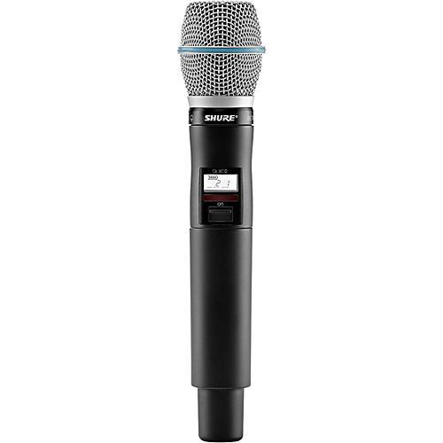 Shure QLXD2/B87C Handheld Wireless Microphone Transmitter-thumbnail