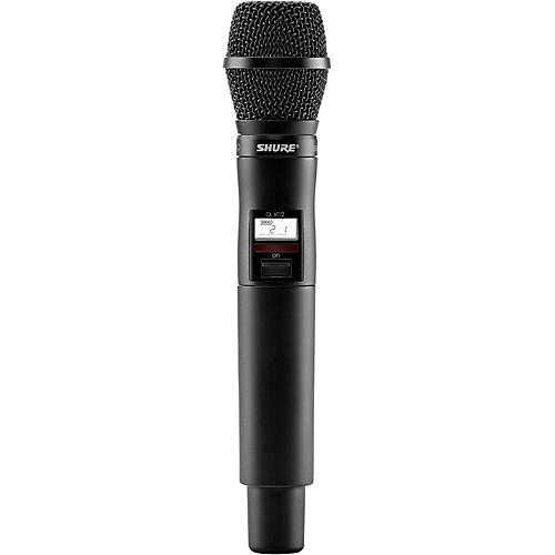 Shure QLXD2/SM87 Wireless Handheld Transmitter with SM87 Microphone-thumbnail