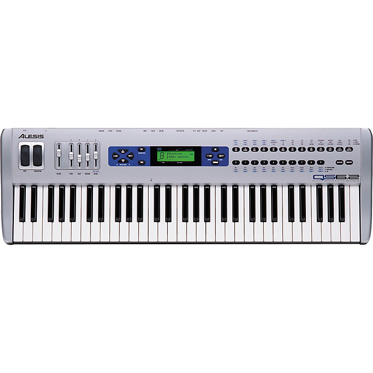 Alesis QS6.2 61-Key Synthesizer