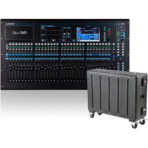 Allen & Heath QU-32 Digital Mixer with Case-thumbnail