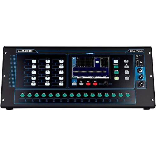 Allen & Heath QU-PAC Ultra Compact Digial Mixer with Touchscreen Control-thumbnail