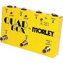 Morley Quad Box Guitar and Amp Switcher Level 2 Regular 190839130884