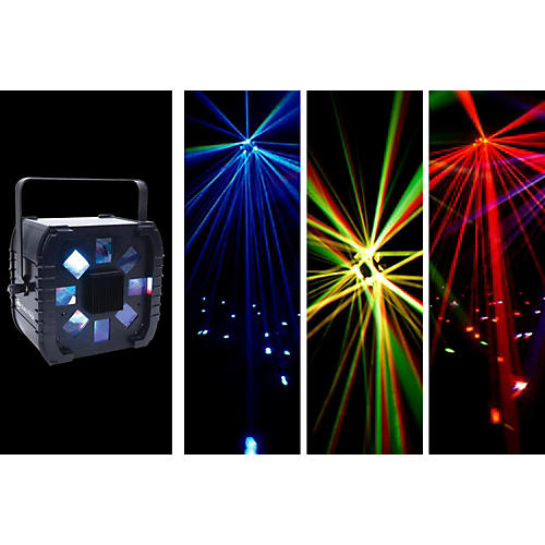 American DJ Quad Phase Large Coverage LED Lighting Effect