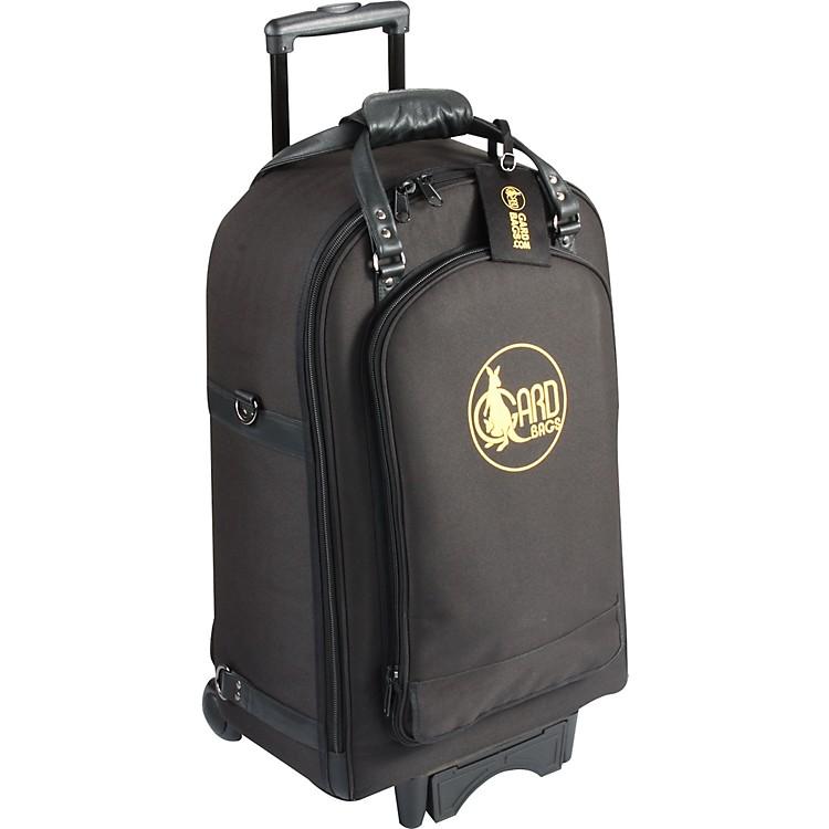 GardQuad Trumpet Wheelie Bag16-WBFLK BlackUltra Leather