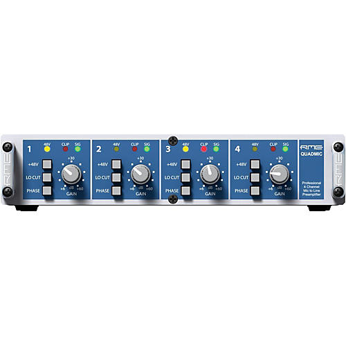 RME QuadMic II 4-Channel Microphone Preamp-thumbnail