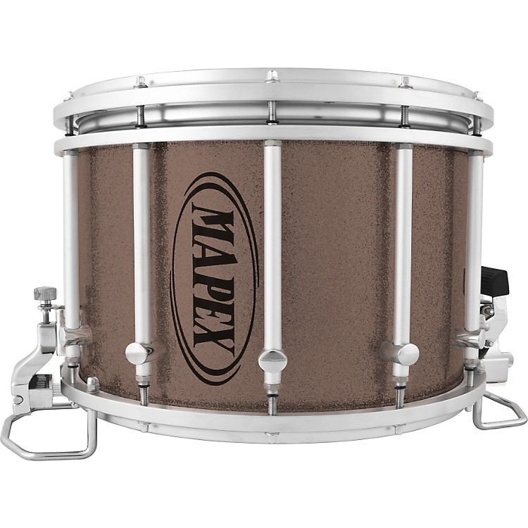 MapexQuantum Agility Marching Snare DrumSilver Diamond Dazzle14x10