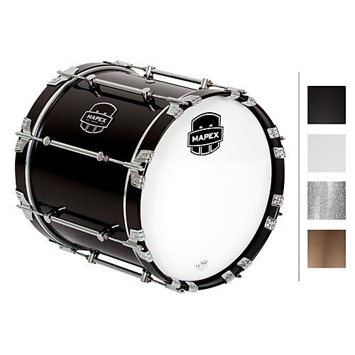 Mapex Quantum Bass Drum 16 x 14 in. Grey Steel/Gloss Chrome Hardware