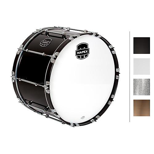 Mapex Quantum Bass Drum 24 x 14 in. Grey Steel/Gloss Chrome Hardware