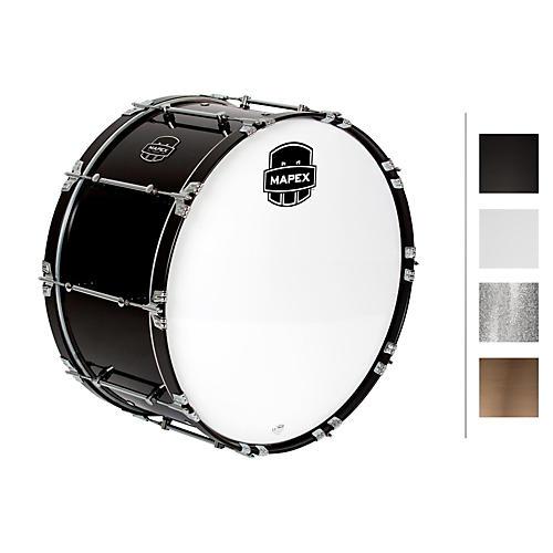 Mapex Quantum Bass Drum 28 x 14 in. Grey Steel/Gloss Chrome Hardware