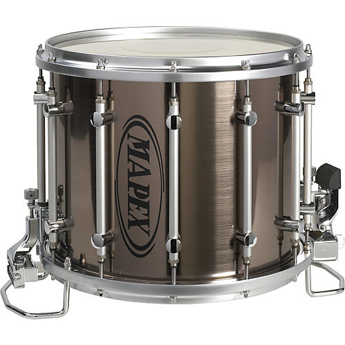 mapex quantum ht snare drum 14 x 12 gray steel 14 x 12 in musician 39 s friend. Black Bedroom Furniture Sets. Home Design Ideas