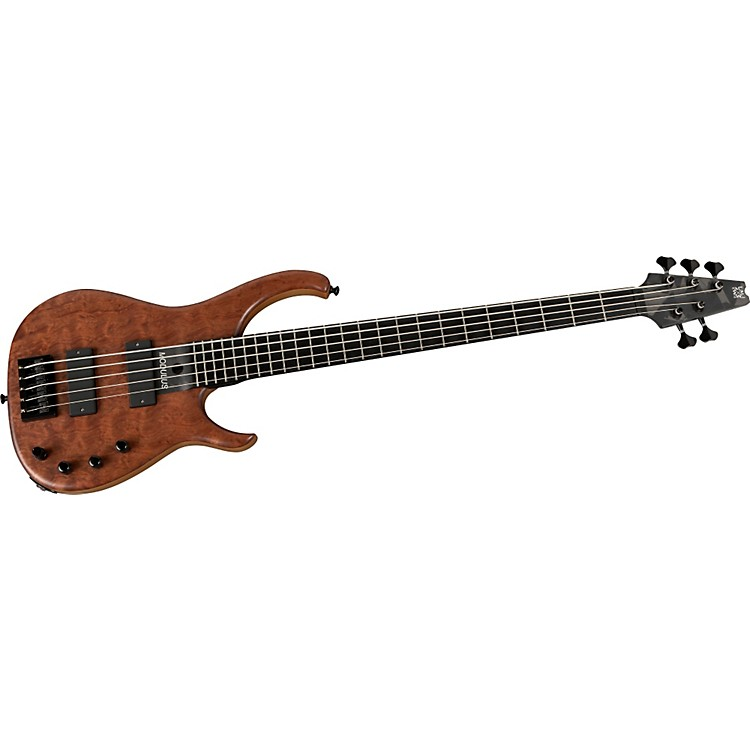 Modulus Guitars Quantum Q5 5-String Figured Bubinga Electric Bass Guitar