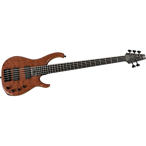 Modulus Guitars Quantum Q5 5-String Figured Bubinga Electric Bass Guitar-thumbnail