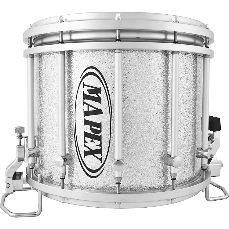 mapex quantum xt snare drum gray steel 14 x 12 in musician 39 s friend. Black Bedroom Furniture Sets. Home Design Ideas