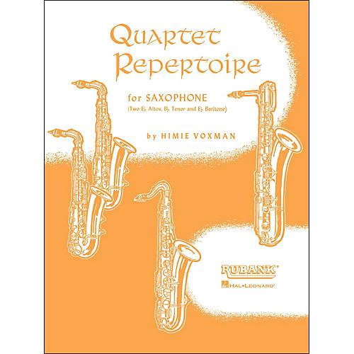 Hal Leonard Quartet Repertoire for Saxophone Full Score