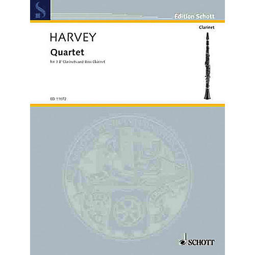 Schott Quartet Schott Series Composed by Paul Harvey-thumbnail
