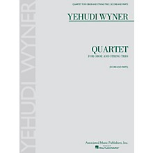 Associated Quartet (for Oboe and String Trio - Score and Parts) Ensemble Series by Yehudi Wyner