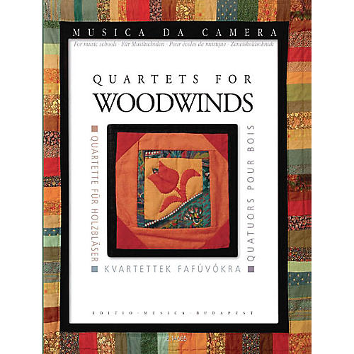 Editio Musica Budapest Quartets for Woodwinds (Musica da Camera for Music Schools) EMB Series Composed by Various-thumbnail