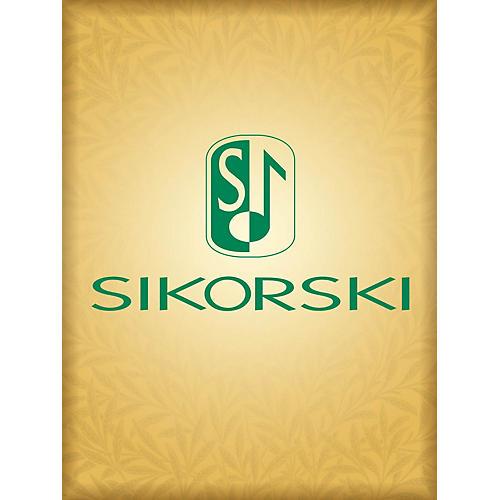 Sikorski Quasi Hoquetus (Score and Parts) Ensemble Series Composed by Sofia Gubaidulina-thumbnail