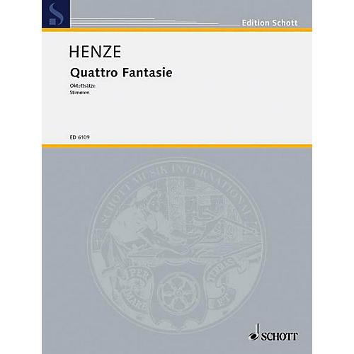 Schott Quattro Fantasie 8 Mvts Parts Schott Series-thumbnail