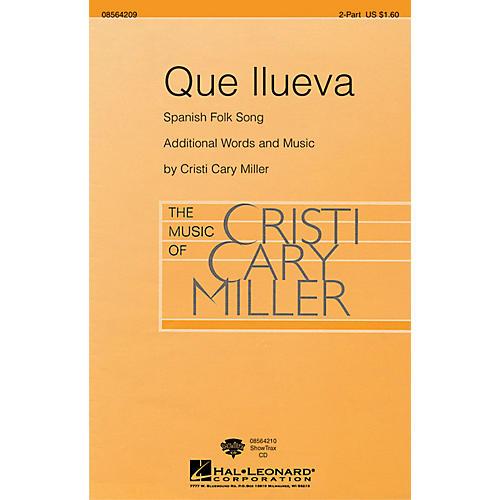 Hal Leonard Que Llueva 2-Part arranged by Cristi Cary Miller