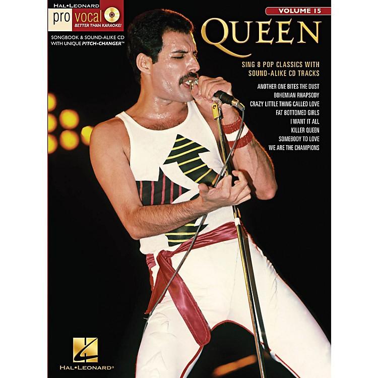 Hal LeonardQueen - Pro Vocal Men's Edition Volume 15 Book/CD