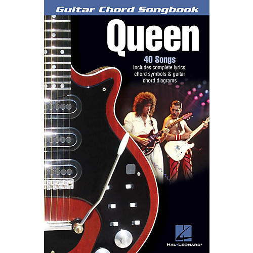 Hal Leonard Queen Guitar Chord Songbook Series Softcover Performed by Queen-thumbnail