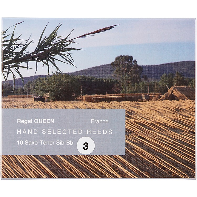 RigottiQueen Reeds for Tenor SaxophoneStrength 3.5Box of 10