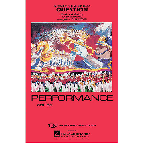 Hal Leonard Question Marching Band Level 4 Arranged by John Wasson-thumbnail