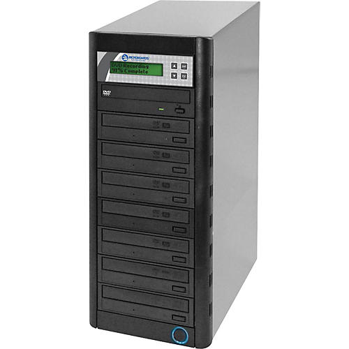 Microboards Quic Disc DVD H127, Economy CD/DVD Duplicator 1:7 with Hard-Drive