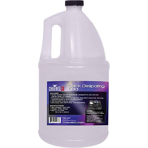 Chauvet Professional Quick Dissipating Fog Fluid (Gallon)
