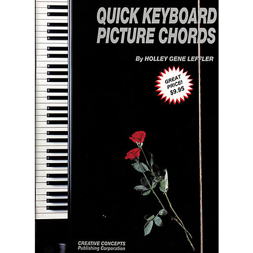 Creative Concepts Quick Keyboard Picture Chords Book-thumbnail