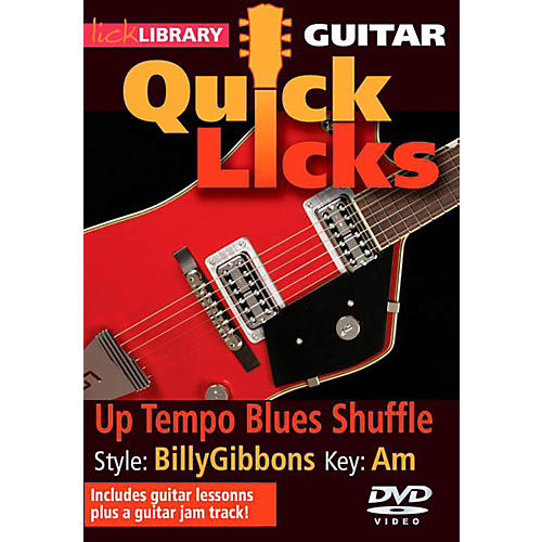 Hal Leonard Quick Licks - Billy Gibbons DVD-thumbnail