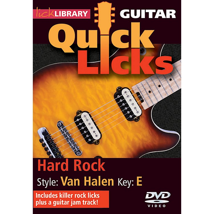 Hal Leonard Quick Licks Van Halen Vol 2 DVD
