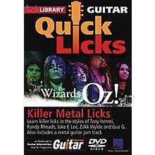 Hal Leonard Quick Licks Wizards of Oz Killer Metal Licks DVD