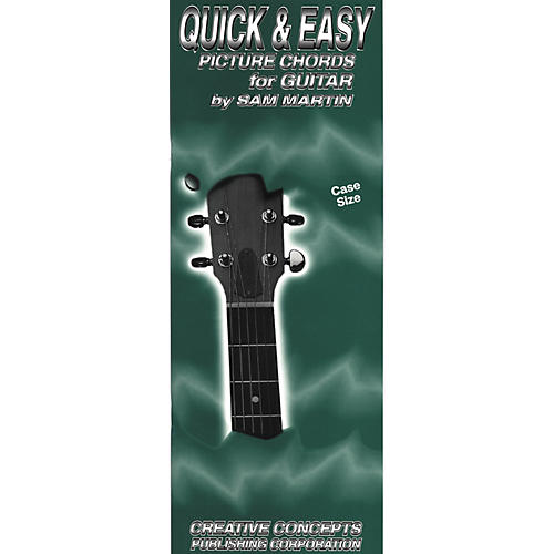 Creative Concepts Quick and Easy Picture Chords for Guitar Book (Case)