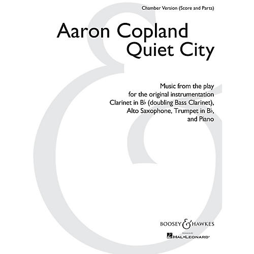 Boosey and Hawkes Quiet City Boosey & Hawkes Chamber Music by Aaron Copland Arranged by Christopher Brellochs-thumbnail