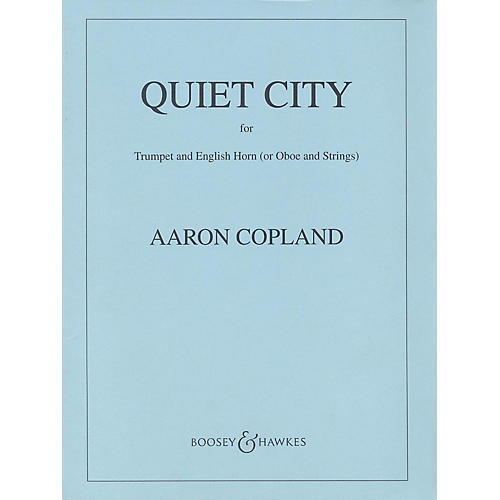 Boosey and Hawkes Quiet City (Score) Boosey & Hawkes Orchestra Series Book by Aaron Copland-thumbnail