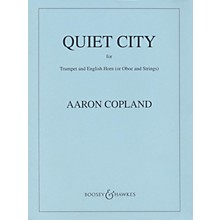 Boosey and Hawkes Quiet City (Score and Parts) Boosey & Hawkes Orchestra Series by Aaron Copland
