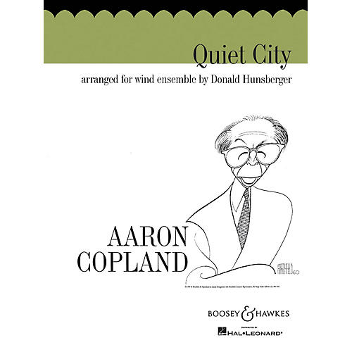Boosey and Hawkes Quiet City (Score and Parts) Concert Band Composed by Aaron Copland Arranged by Donald Hunsberger-thumbnail