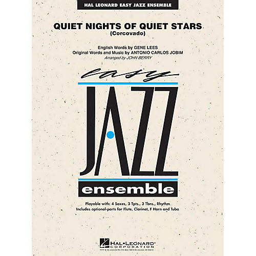 Hal Leonard Quiet Nights of Quiet Stars (Corcovado) Jazz Band Level 2 Arranged by John Berry-thumbnail