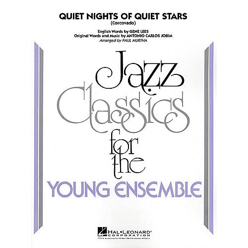 Hal Leonard Quiet Nights of Quiet Stars (Corcovado) Jazz Band Level 3 Arranged by Paul Murtha-thumbnail