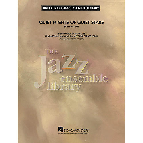 Hal Leonard Quiet Nights of Quiet Stars (Corcovado) Jazz Band Level 4 Arranged by Mark Taylor-thumbnail
