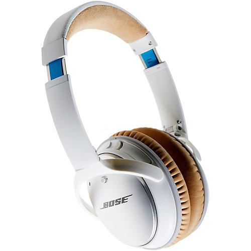 Bose QuietComfort 25 Noise Cancelling Headphones (Apple) White