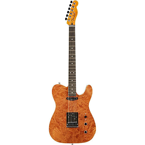 Fender Custom Shop Quilted Redwood Top Telecaster Electric Guitar
