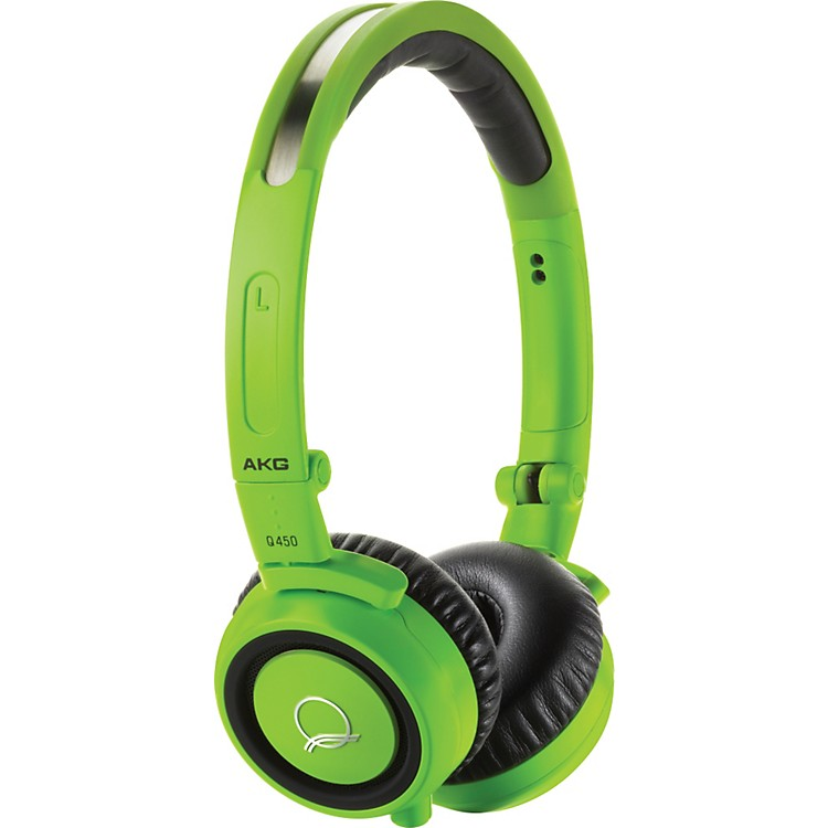 AKGQuincy Jones Signature Series Q460 Mini On Ear HeadphonesGreen