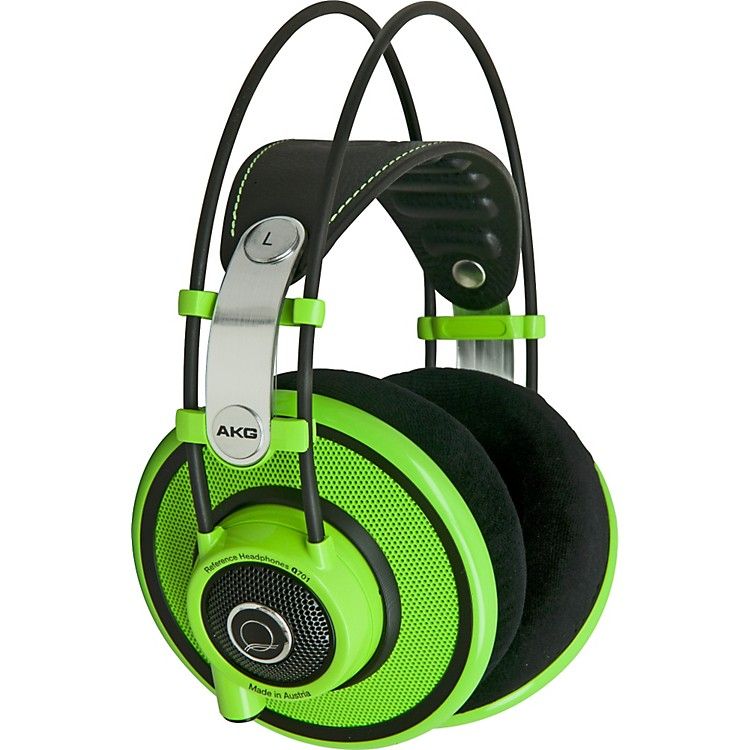 AKG Quincy Jones Signature Series Q701 Premium Class Reference Headphones Green