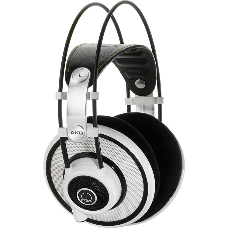 AKG Quincy Jones Signature Series Q701 Premium Class Reference Headphones White